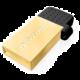 Transcend JetFlash 380G 32GB, zlatá