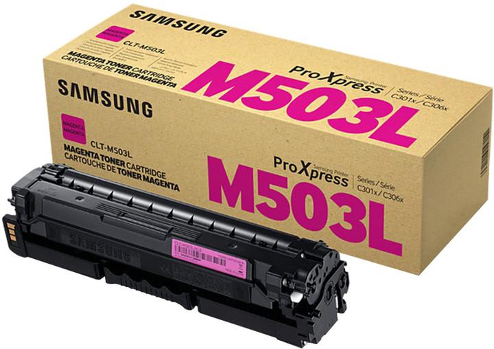 Samsung CLT-M503L/ELS, purpurová