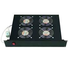 """Triton horizontální ventilační jednotka RAB-CH-X02-A1, 19"""", 2U, 4x ventilátor, 220V/60W"""