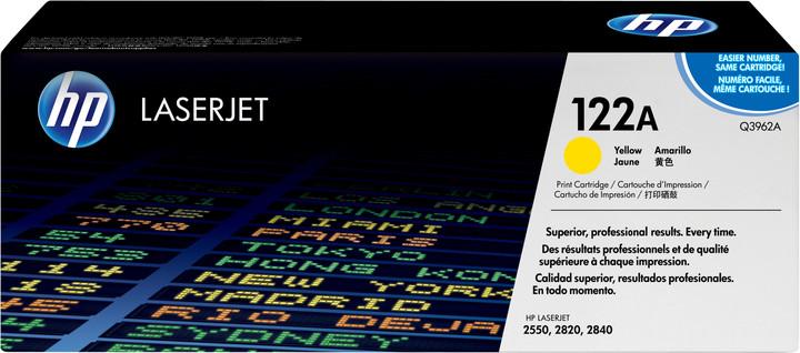 HP Q3962, žlutý