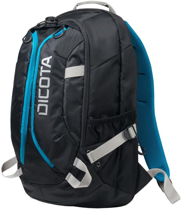 "DICOTA Active XL - Batoh na notebook - 17.3"" - černá, modrá"