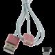 MyMAX magnetický kabel lightning – růžový