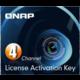 QNAP licenční balíček pro kamery - 4 kamery
