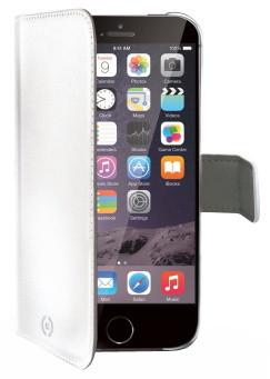 CELLY Wally flipové pouzdro pro iPhone 6 PLUS, bílá