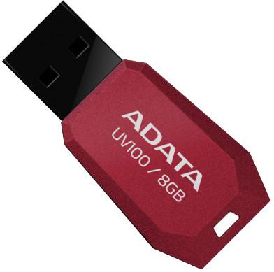 ADATA UV100 8GB, červená