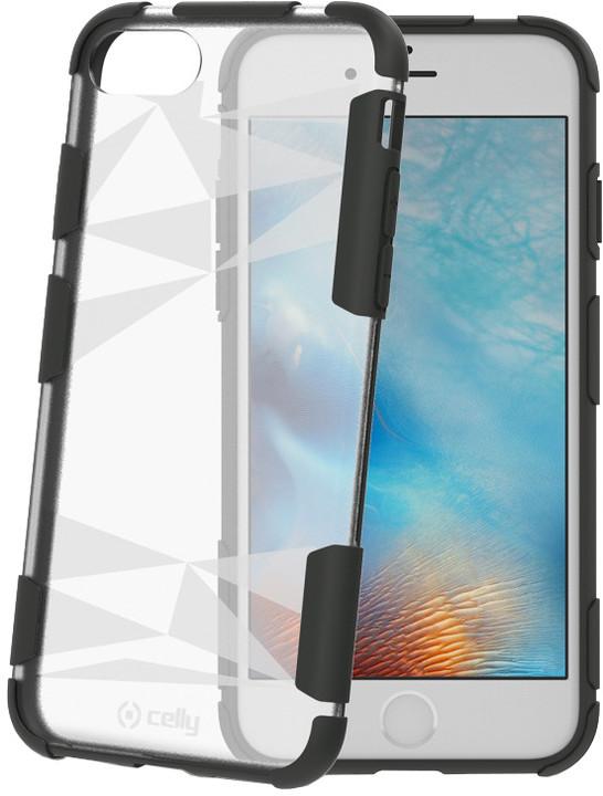 CELLY PRYSMA zadní kryt pro Apple iPhone 7, transparentní