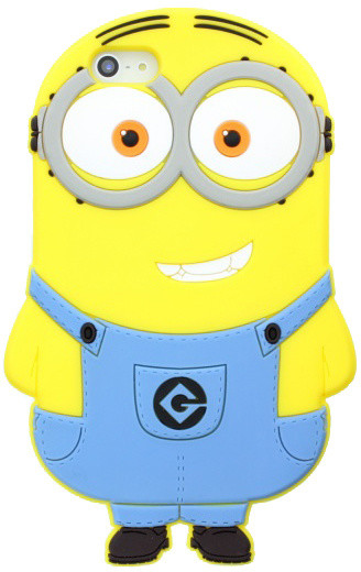 Despicable Me Minions pro Apple iPhone 5/5S/SE, 3D postavička Dave