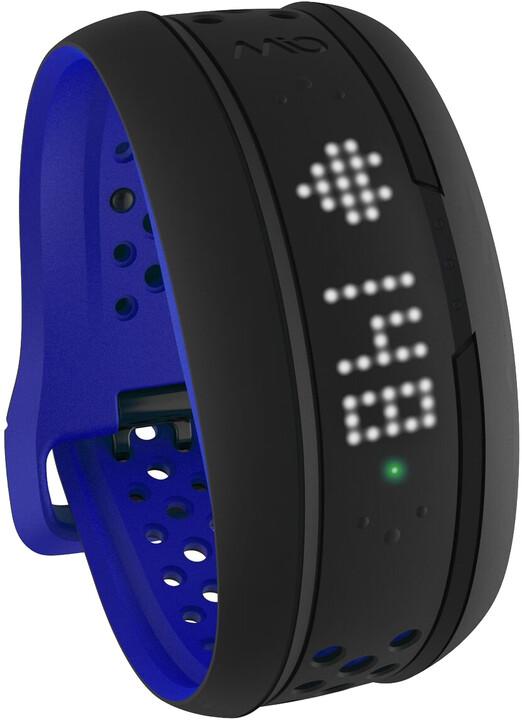 MIO Fuse activity tracker se senzorem srdečního tepu - krátký pásek, modrá