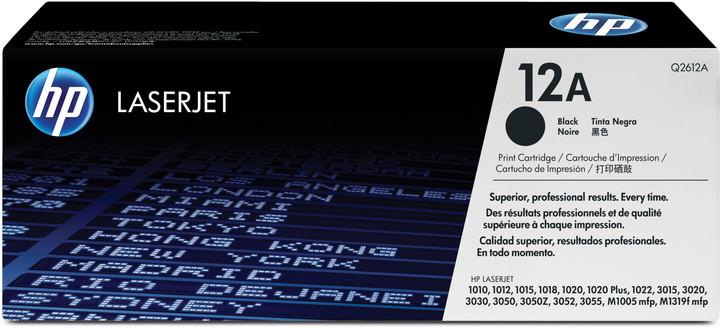 HP Q2612A, černý