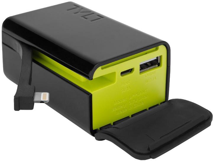 TYLT POWERPLANT Portable Power Pack Lightning Piano Černá/Zelená