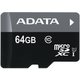 ADATA Micro SDXC Premier 64GB UHS-I + adaptér