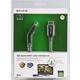 Belkin HDMI/HDMI HighSpeed 3D s Ethernetem, boční 180°, zlacený, 2m