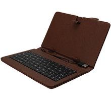 iGET 10.1'' pouzdro s klávesnicí F10BR, hnědá