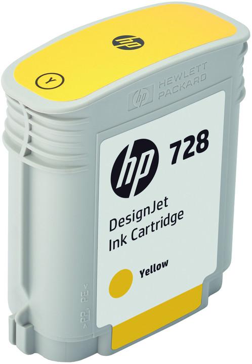 HP F9J61A no. 728 (40ml), yellow