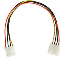 """PremiumCord prodlužovací napájecí kabel 5,25"""" molex 37cm - 8592220011536"""