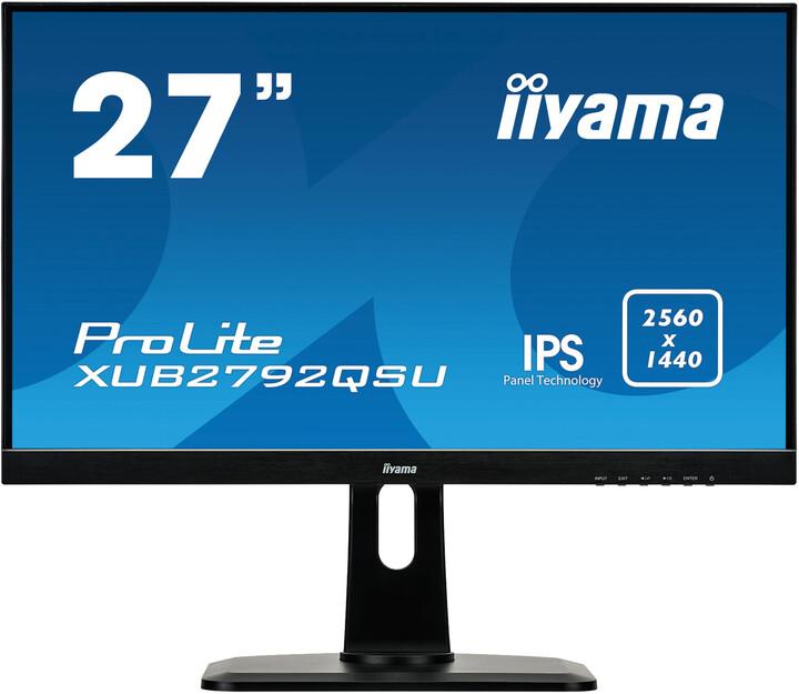 "iiyama ProLite XUB2792QSU - LED monitor 27"""