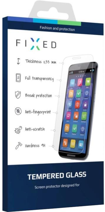FIXED ochranné tvrzené sklo pro Apple iPhone 7, 0.33 mm