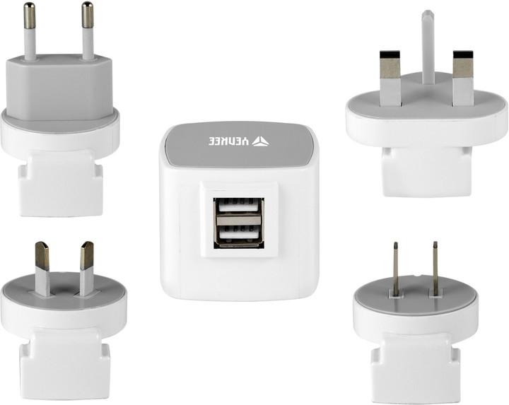 YENKEE YAT 202 Cestovní adaptér USB 3.5A