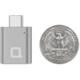 Nonda USB Type-C > USB 3.0 Typ-A Mini adaptér - Grey