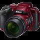 Nikon Coolpix B700, červená  + Batoh Alpine Pro Nexca v ceně 750 Kč