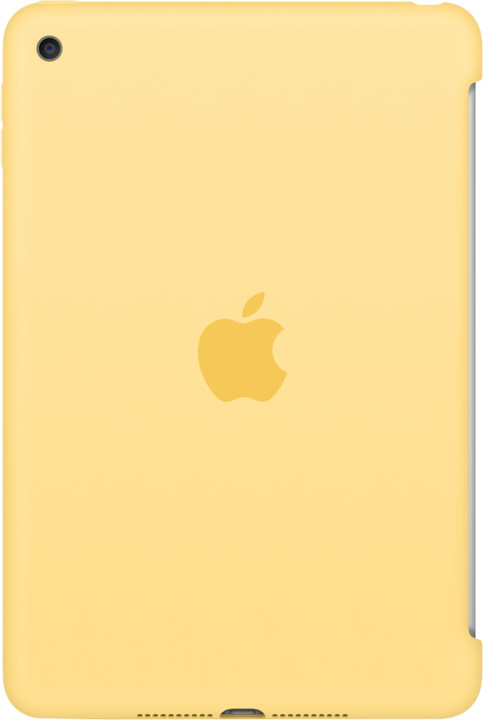 Apple iPad mini 4 Silicone Case - Yellow