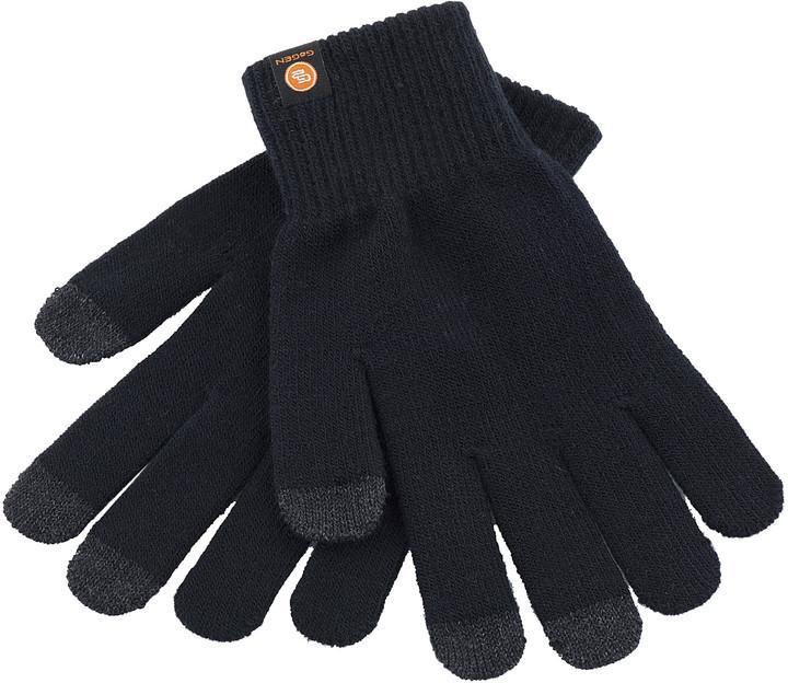GoGEN Rukavice pro dotykové displeje, L, černá