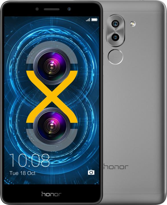 Honor 6X, šedá