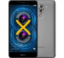 Honor 6X, šedá - 51091CFG + Zdarma CulCharge MicroUSB kabel - přívěsek (v ceně 249,-)