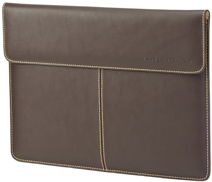 "HP Leather Sleeve 13,3"", hnědá"