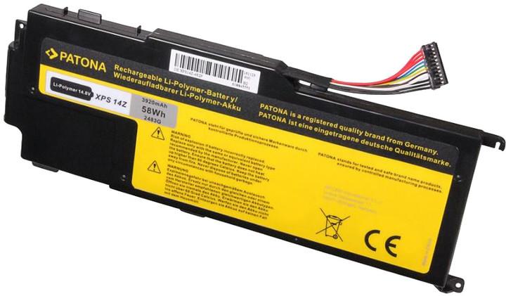 Patona baterie pro DELL XPS 14Z 3920mAh Li-Pol 14,8V