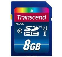 Transcend SDHC 300X 8GB Class 10 UHS-I - TS8GSDU1
