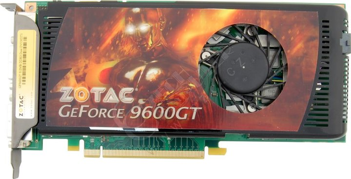 Zotac GeForce 9600 GT 512MB, PCI-E
