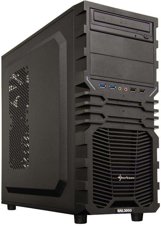 HAL3000 Enterprice Gamer, černá