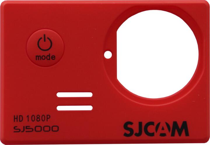 SJCAM ochranný kryt pro SJ5000, červený