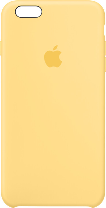 Apple iPhone 6s Plus Silicone Case - Yellow