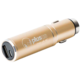 PlusUs Life2Go 2-in-1 Car charger + 1,000 mAh PowerBank MicroUSB - Copper