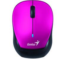 Genius Micro Traveler 9000R V2, bezdrátová, černá/fialová - 31030110100