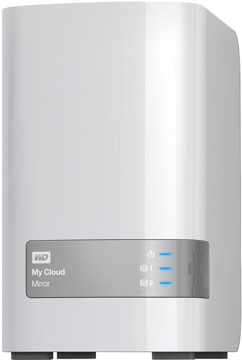 "WD My Cloud Mirror, 3,5"", USB3.0 - 16TB, bílá"