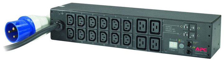 APC rack PDU, měřené, 2U, 32A, 230V, (12) C13 & (4) C19