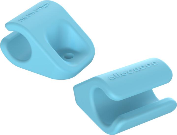 Allocacoc CableFix 8x, modrá