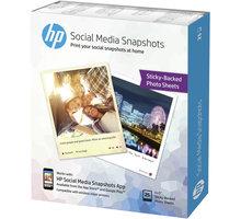 HP samolepící fotopapír, 25 listů, 10x13 cm, 265g/m - W2G60A