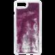 Guess Liquid Glitter Hard Triangle Rose Gold pouzdro pro iPhone 7