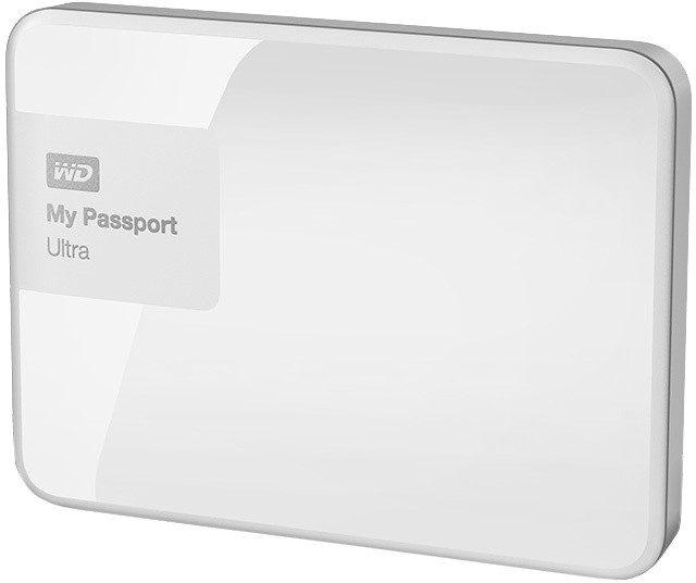 WD My Passport ULTRA - 500GB, bílá