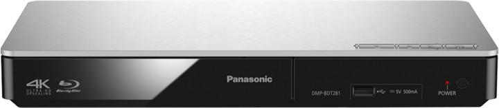 Panasonic DMP-BDT281EG, 3D, stříbrná