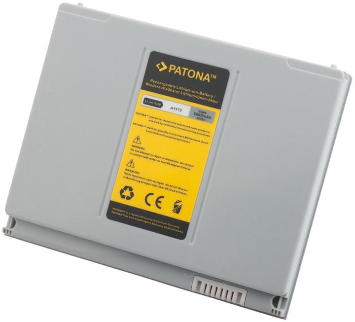 """Patona baterie pro Apple Macbook Pro 15"""" 5600mAh 10,8V, stříbrná"""