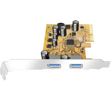 ICY BOX IB-U31-02, 2xUSB 3.1 (Type-A), PCI-e