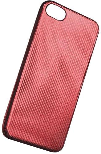 Forever silikonové (TPU) pouzdro pro Apple iPhone 6/6S, carbon/červená
