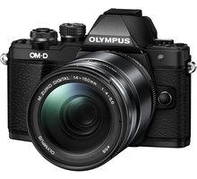 Olympus E-M10 Mark II + 14-150mm II, černá/černá - V207054BE000