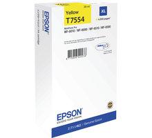 Epson C13T755440, žlutá XL