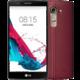 LG G4 (H818P), Dual Sim, červená/leather red